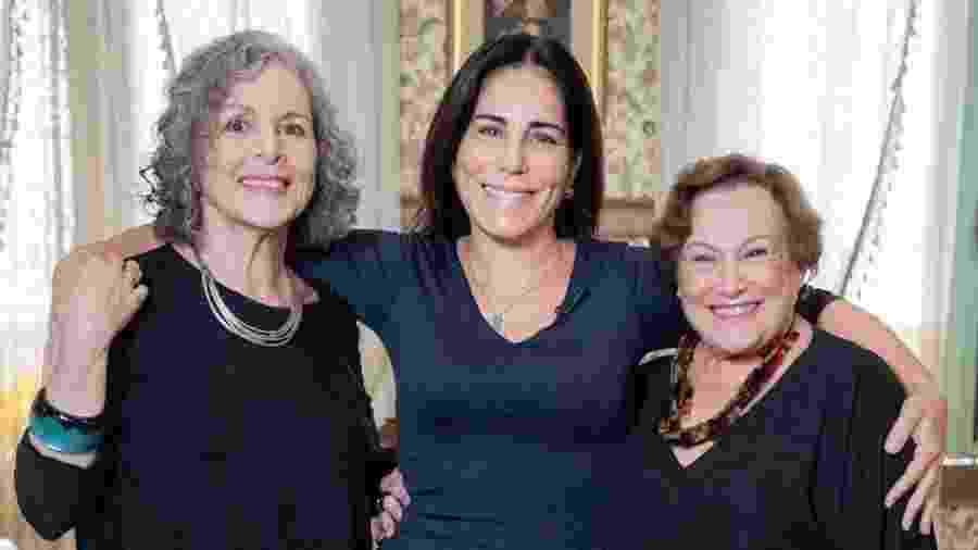 Irene Ravache, Gloria Pires e Nicette Bruno: as três Lolas da dramaturgia - Reprodução/Instagram