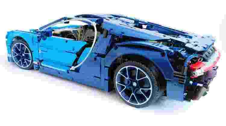 Assim como o 911 GT3 RS, várias partes do Chiron são funcionais - Reprodução