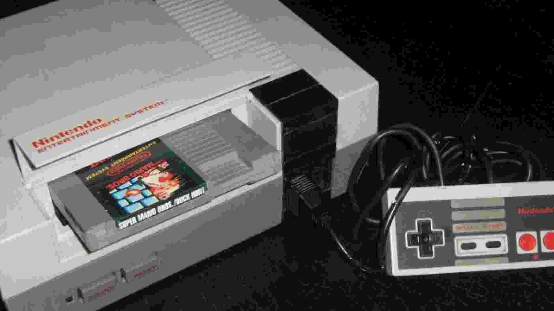 Nintendinho (NES) - Reprodução