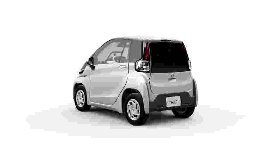 Toyota Salão de Tóquio Ultra Compact BEV traseira - Divulgação