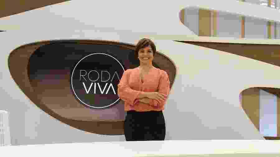 """Vera Magalhães, âncora do """"Roda Viva"""", da TV Cultura - TV Cultura"""