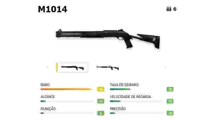 Free Fire M1014 - Reprodução - Reprodução