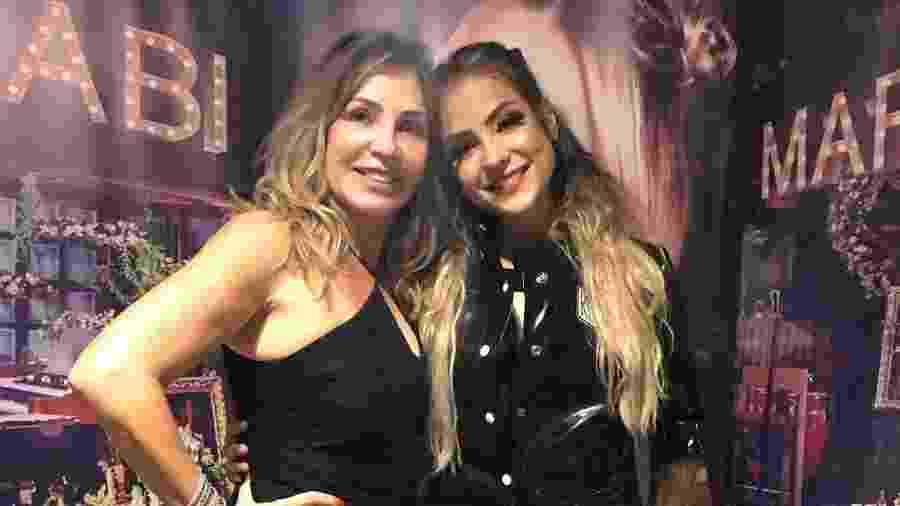 A BBB Gabi Martins (à direita) com a mãe, Maíra - Reprodução/Instagram