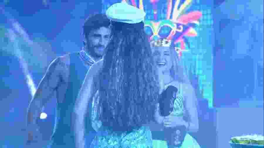 """BBB 20 - """"Casamento"""" de Guilherme e Gabi - Reprodução/Globoplay"""