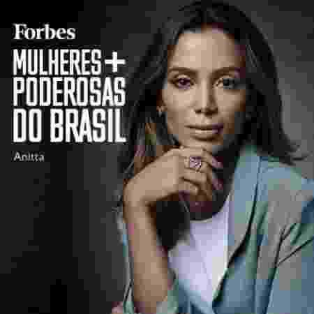 Anitta é eleita uma das mulheres mais poderosas do Brasil pela revista Forbes - Reprodução/Instagram