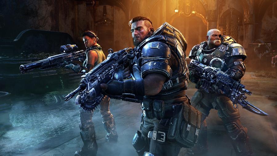 Gears Tactics tem lançamento previsto para dia 28 de abril - Divulgação/Microsoft