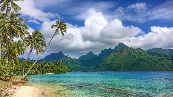Ilha da polinésia Francesa, um dos destinos que já acolhe turistas apesar da crise do coronavírus - Getty Images/iStockphoto - Getty Images/iStockphoto