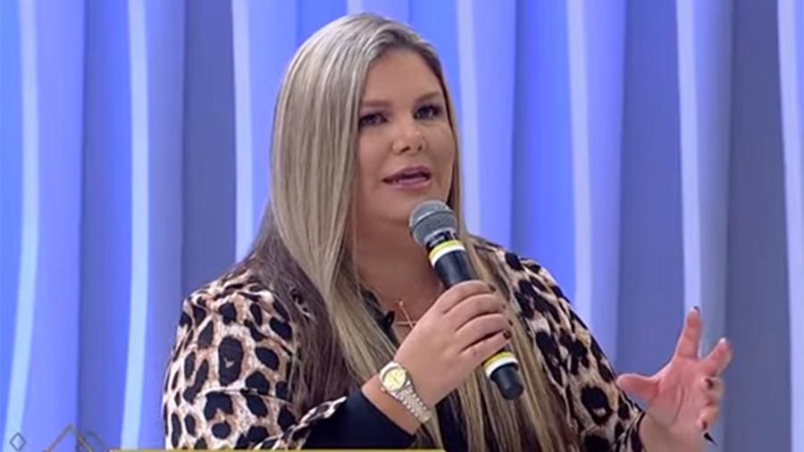 Ex-Ronaldinha Vivi Brunieri - Reprodução/RedeTV!