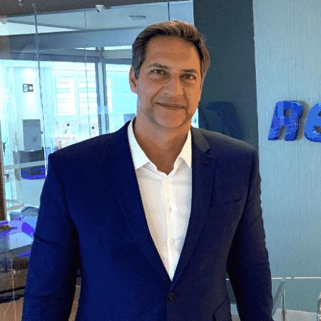 Luís Ernesto Lacombe na RedeTV! - divulgação/RedeTV