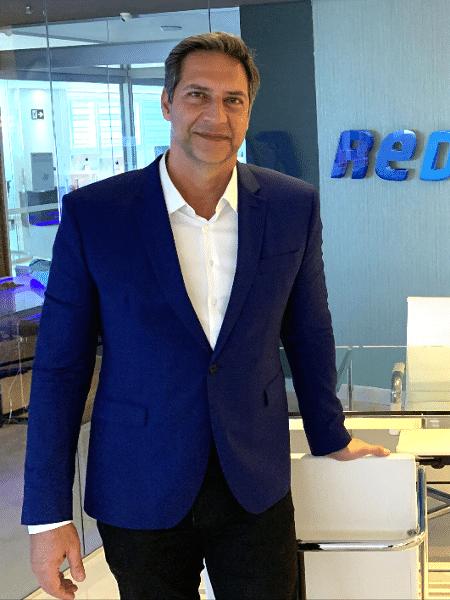 """Luís Ernesto Lacombe, apresentador do """"Opinião no Ar"""" e do """"Agora com Lacombe"""" na RedeTV! - Divulgação/RedeTV"""