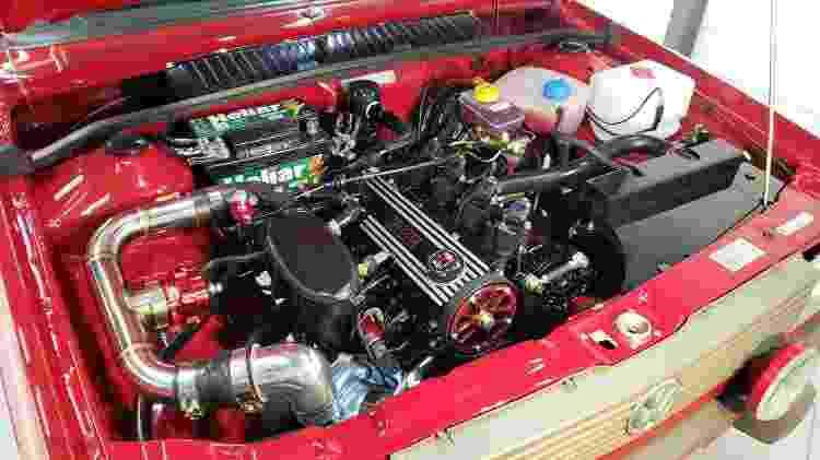 Volkswagen Saveiro GTI By Deni motor - Arquivo pessoal - Arquivo pessoal