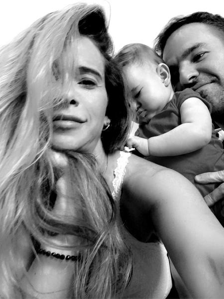 Dany Bananinha e Pedro Koellreutter com Lara - Reprodução/Instagram