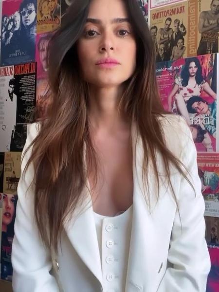 Thaila Ayala compartilhou vídeo - Reprodução/Instagram @thailaayala