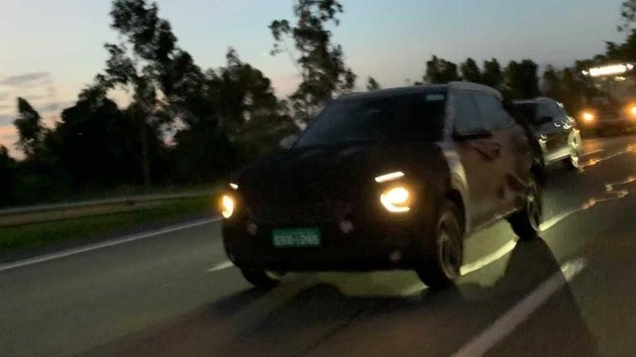 Hyundai Creta 2022 é flagrado circulando no interior de São Paulo - Fabiano Martin/Arquivo Pessoal