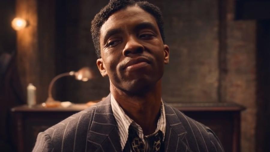 Família de Chadwick Boseman não ficou triste com derrota no Óscar - Reprodução