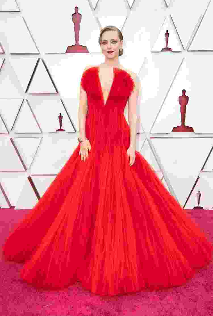 Amanda Seyfried veste Armani  - Matt Petit/A.M.P.A.S. via Getty Images - Matt Petit/A.M.P.A.S. via Getty Images