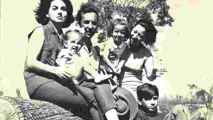 Família Trombino na Fazenda - Acervo Xapuri - Acervo Xapuri