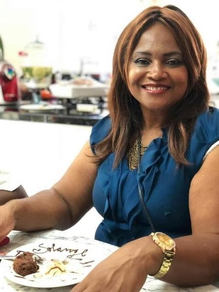 Solange Reis Braz, tia da colunista, morreu aos 64 anos em decorrência da covid-19 - Arquivo pessoal