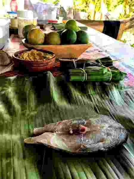 Peixe na bananeira - Deborah Santos Martins/Alecrim Baiano - Deborah Santos Martins/Alecrim Baiano