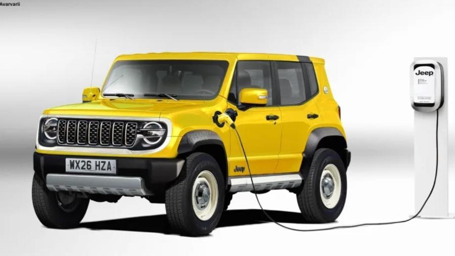 "Possível novo Jeep Renegade ""bebê"" elétrico - Auto Express"