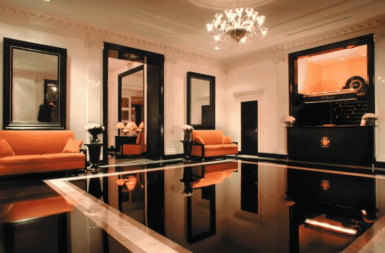 Saguão do hotel The Carlyle, em Nova York - Reprodução - Reprodução