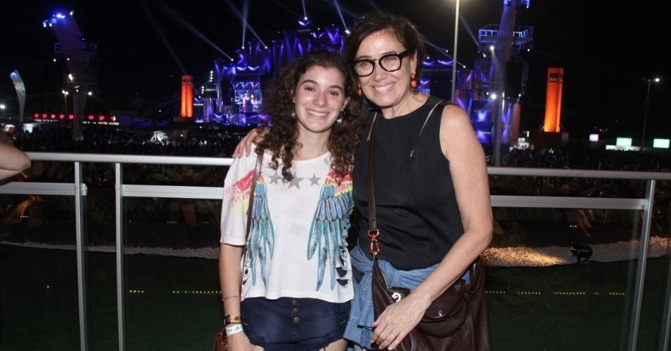 18.set.2015 - Lília Cabral e filha Giulia
