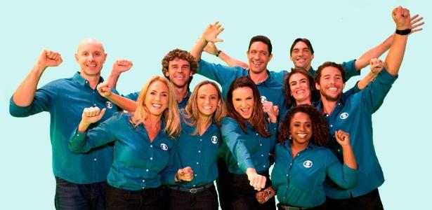 Time da Globo é composto por atletas que se destacaram representando o país - Globo/João Cotta