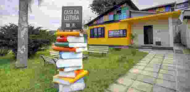Casa da Leitura Manoel Carlos Karam é um dos locais que abriga a programação de aniversário de programa de incentivo à leitura em Curitiba - Divulgação/Cido Marques