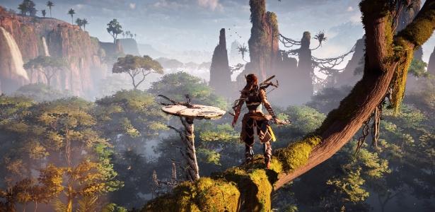 """""""Horizon Zero Dawn"""" é um dos nomes que deverão aquecer o ano para o PlayStation 4"""