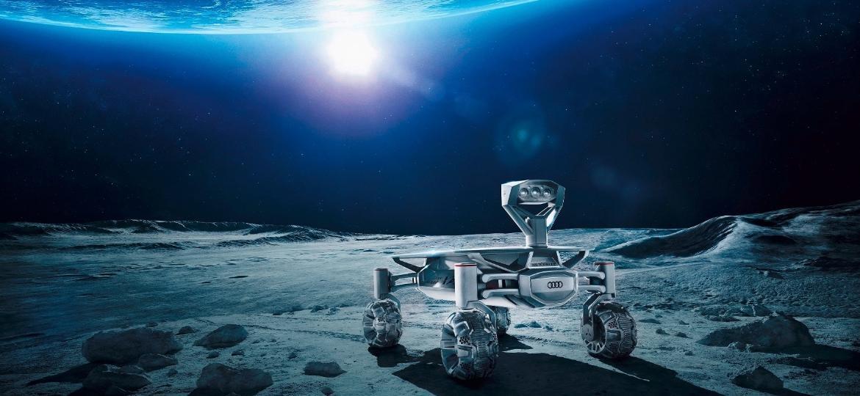 Audi Lunar Quattro: diversas fabricantes de carros estão atrás de desafios na lua - Divulgação