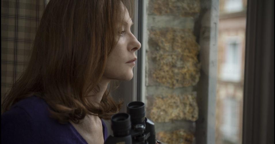 "Isabelle Huppert em cena do filme ""Elle"" (2016), de Paul Verhoeven"