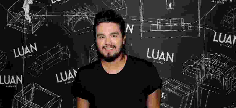 Luan Santana faz show no camarote Villa Mix em Salvador - Thiago Duran/AgNews