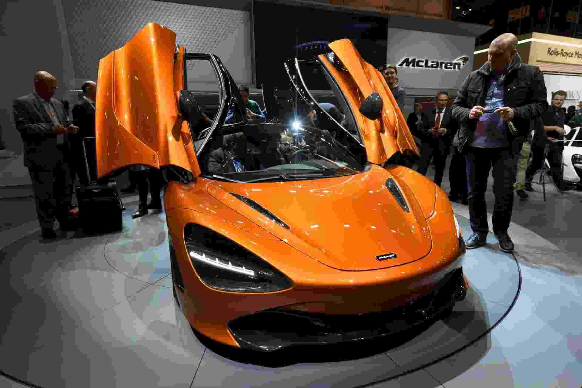 McLaren 720S Coupé - Fabrice Coffrini/AFP