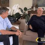 Marcelo Rezende passou a última semana internado no hospital Albert Einstein, em São Paulo, depois de se queixar de dores na altura do abdômen, além de mal-estar e cansaço - Reprodução/TV Record