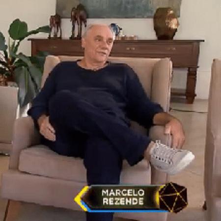 Marcelo Rezende - Reprodução/TV Record