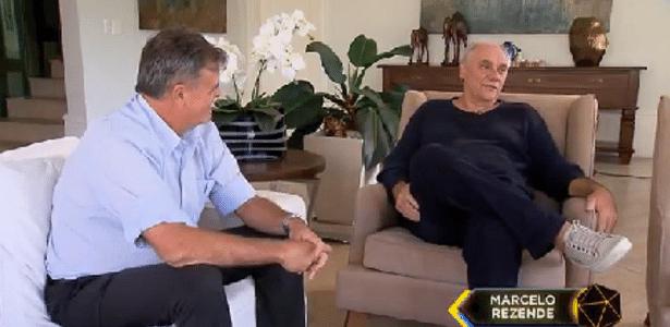 O apresentador Marcelo Rezende anunciou estar com câncer de pâncreas