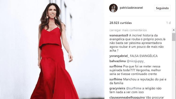 Patrícia Abravanel foi alvo de críticas nas redes sociais - Reprodução/Instagram - Reprodução/Instagram