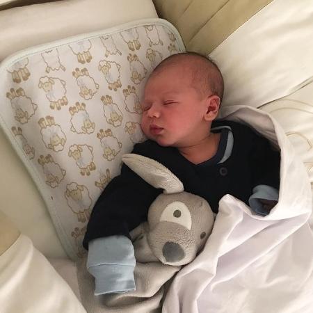 Gabriel, bebê de Gusttavo Lima e Andressa Suita - Reprodução/Instagram