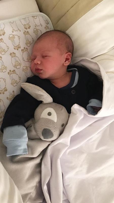 Gabriel, o bebê de Gusttavo Lima e Andressa Suita - Reprodução/Instagram