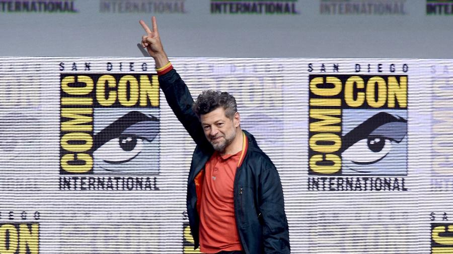 Andy Serkis na Comic-Con 2017 - Kevin Winter/Getty Images/AFP