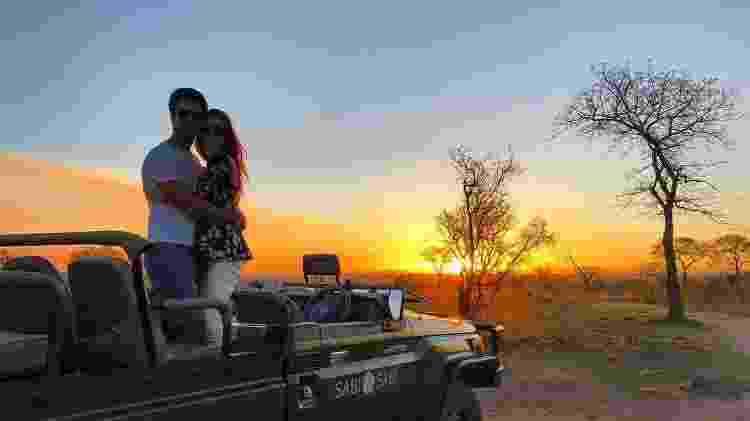 Marina Ruy Barbosa e Xandinho Negrão curtem o pôr do sol na África do Sul - Reprodução/Instagram/marinaruybarbosa - Reprodução/Instagram/marinaruybarbosa