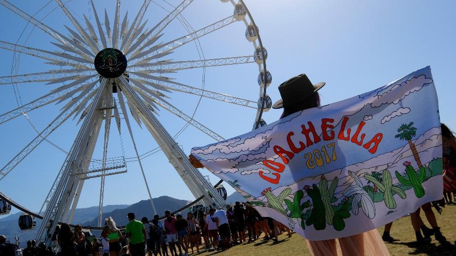 A roda gigante do Coachella - Getty Images