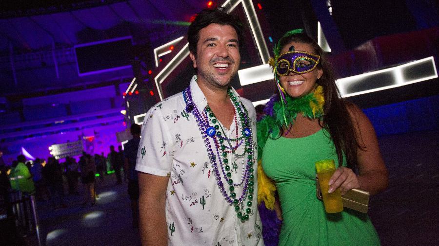 Pedro Freitas e Allison Freitas no Carnaval dos Sonhos no Rio de Janeiro - Douglas Shineidr/UOL