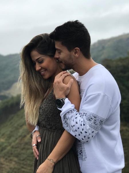 Mayra Cardi e o noivo Arthur Aguiar - Reprodução/Instagram