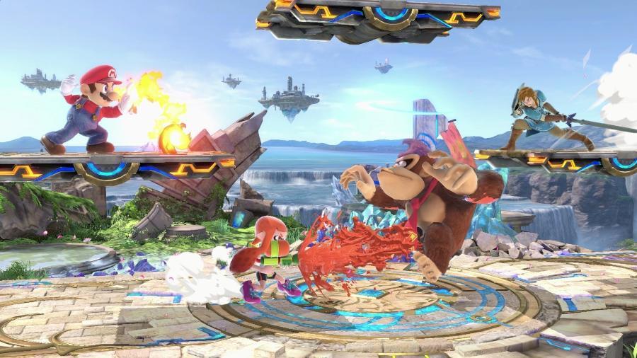 """""""Super Smash Bros Ultimate"""" é o game mais recente da franquia, com mais de 60 personagens e diversos modos de jogo. - Reprodução"""