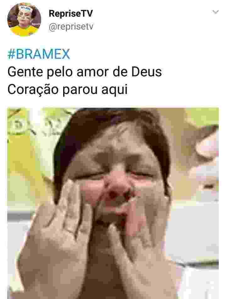 Como está sua ansiedade neste jogo do Brasil contra o México? Mostre no BOL: (11) 97335-6855 - Reprodução/Twitter