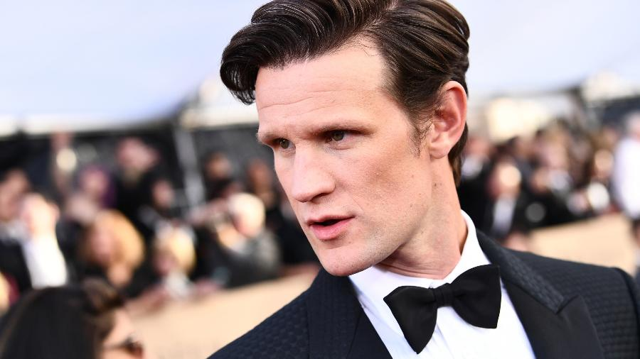 O ator Matt Smith durante o SAG Awards 2018 - Emma McIntyre/Getty Images for Turner