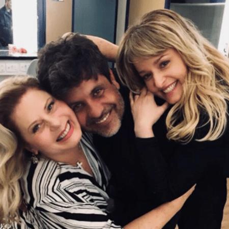 Luciana Vendramini com Vera Fischer e Pedro Vasconcelos - Reprodução/Instagram