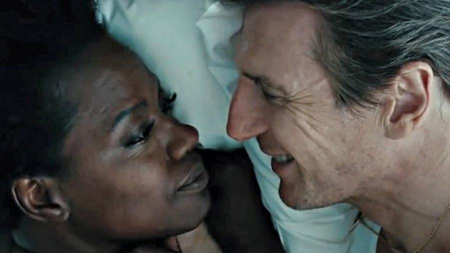 """Viola Davis e Liam Neeson em cena de """"Viúvas"""" - Divulgação"""