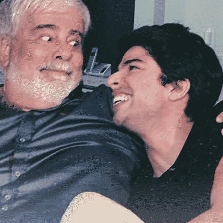 Diego Montez relembra momento com o pai, Wagner Montes - Reprodução/Instagram